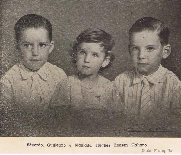 Eduardo Hughes Roosen y Matildita Hughes Roosen